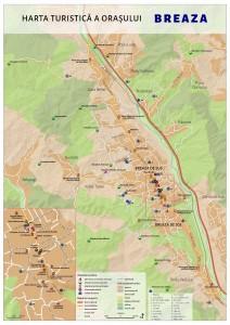 Hartă Oraș Breaza Centrul De Informare Si Promovare Turistică